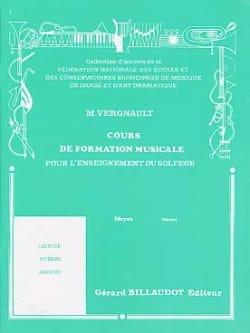 Cours de Formation Musicale - Moyen Michel Vergnault laflutedepan