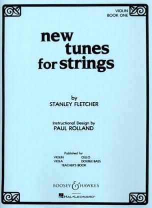 New Tunes For Strings Volume 1 - Violon Stanley Fletcher laflutedepan