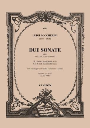 2 Sonates : n° 2 en do majeur G. 6 ; n° 3 en sol majeur G. 5 laflutedepan