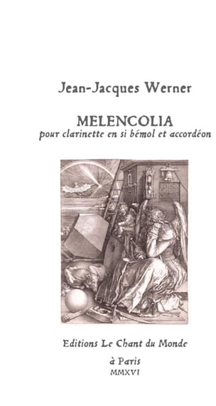 Melencolia - Clarinette et accordéon - laflutedepan.com