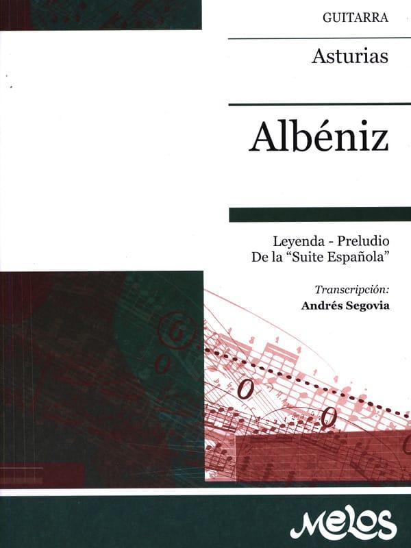 Asturias - ALBENIZ - Partition - Guitare - laflutedepan.com