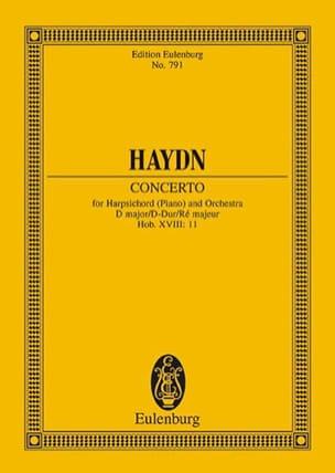 Concerto D Dur Hob. XVIII/11 HAYDN Partition laflutedepan