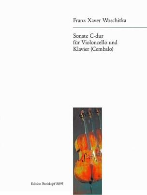 Sonate C-Dur Franz Xaver Woschitka Partition laflutedepan