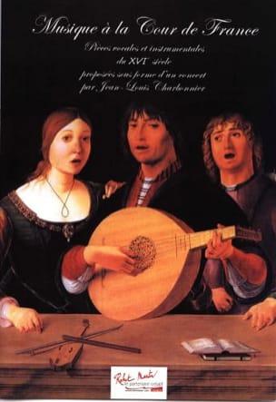 Musique à la cour de France Jean-Louis Charbonnier laflutedepan
