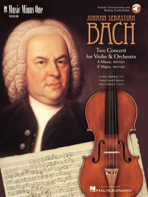 Johann Sebastian Bach - Violin Concertos - Partition - di-arezzo.com