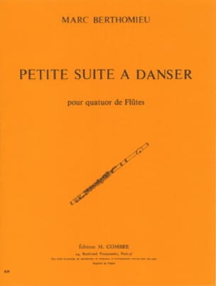 Petite suite à danser - 4 Flûtes - Marc Berthomieu - laflutedepan.com