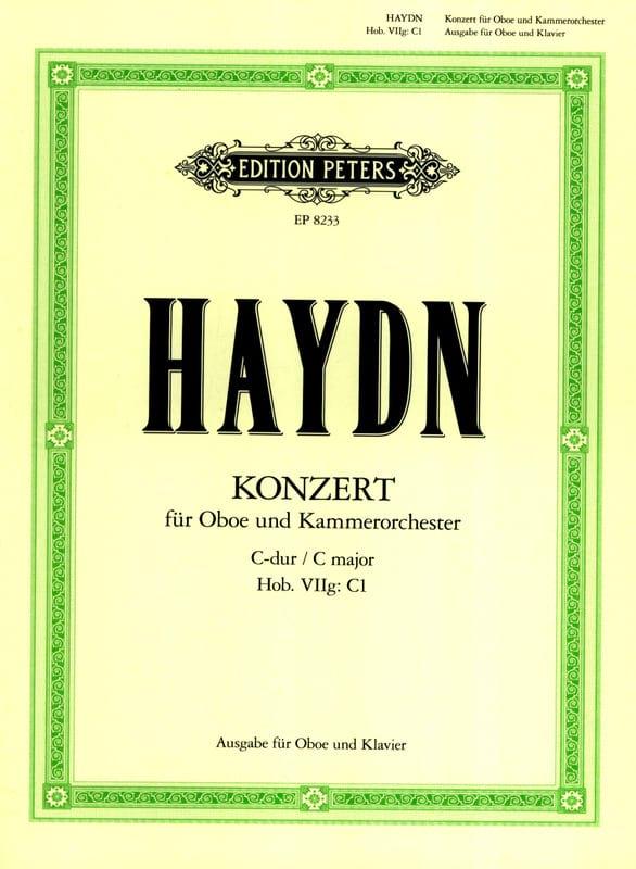 Oboenkonzert C-Dur Hob. 7g : C1 Oboe Klavier - laflutedepan.com