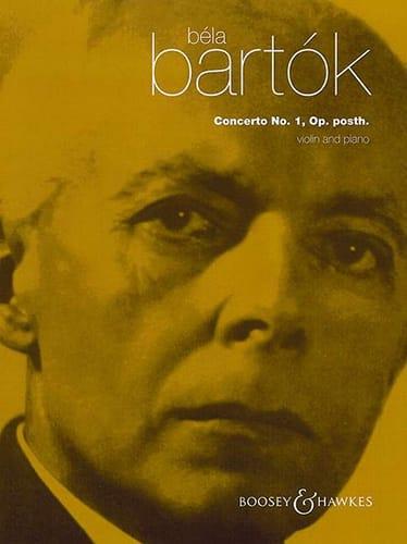 Violin Concerto n° 1 - Violon et Piano - BARTOK - laflutedepan.com