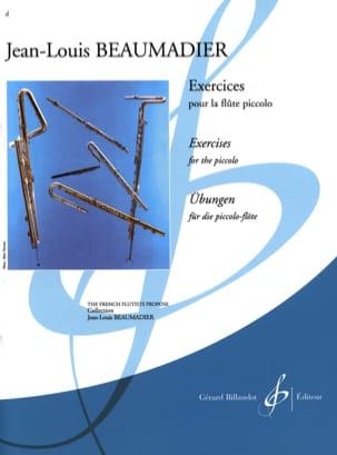 Exercices pour flûte piccolo Jean-Louis Beaumadier laflutedepan