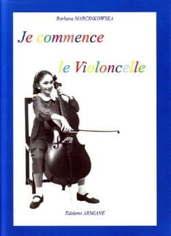Je Commence le Violoncelle - Barbara Marcinkowska - laflutedepan.com