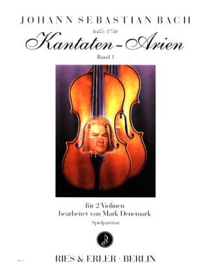 Kantaten Arien Volume 1 BACH Partition Violon - laflutedepan