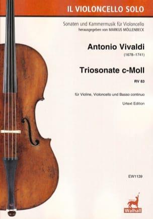 Antonio Vivaldi - Sonate en trio RV 83 - Partition - di-arezzo.fr