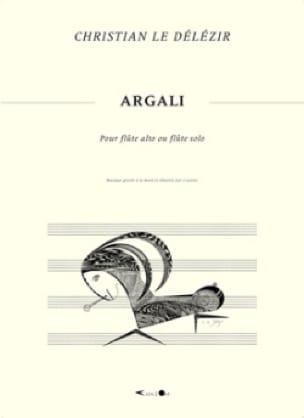Argali - Délézir Christian Le - Partition - laflutedepan.com