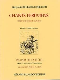 Chants péruviens d' Harcourt Marguerite Béclard laflutedepan
