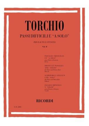 Passi Difficili E A Solo, Volume 2 Baldassare Torchio laflutedepan