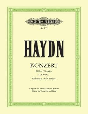 Concerto en do Majeur pour violoncelle Hob. 7b: 1 - laflutedepan.com