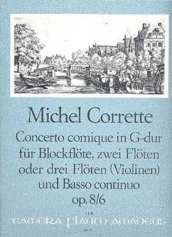 Concerto comique in G-Dur op. 8 n° 6 -Blockflöte 2 Flöten BC laflutedepan