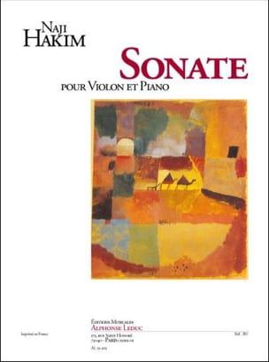 Sonate pour violon et piano - Naji Hakim - laflutedepan.com