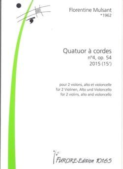 Quatuor à Cordes n° 4 - Parties + Conducteur laflutedepan