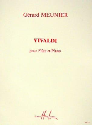 Vivaldi - Gérard Meunier - Partition - laflutedepan.com