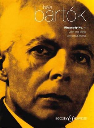 Rhapsody n° 1 BARTOK Partition Violon - laflutedepan