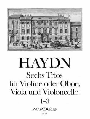 6 Trios Bd. 1 -Stimmen HAYDN Partition Trios - laflutedepan