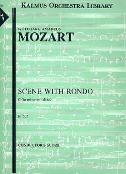 Ch'io Mi Scordi Di Te?, K. 505 - Score - MOZART - laflutedepan.com