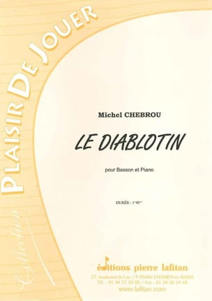 Le Diablotin Michel Chebrou Partition Basson - laflutedepan