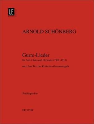 Gurre-Lieder 1900-1911 SCHOENBERG Partition laflutedepan