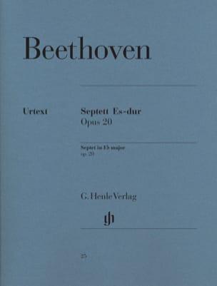 Septuor en Mi bémol majeur op. 20 BEETHOVEN Partition laflutedepan