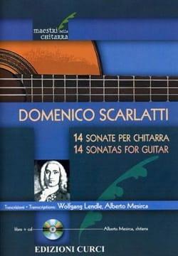 14 Sonates - Guitare SCARLATTI Partition Guitare - laflutedepan