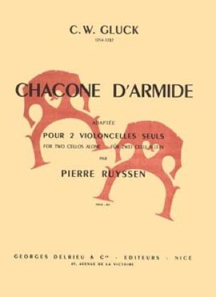 Chacone d'Armide - 2 Violoncelles - GLUCK - laflutedepan.com