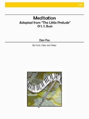 Meditation - Dan Fox - Partition - laflutedepan.com