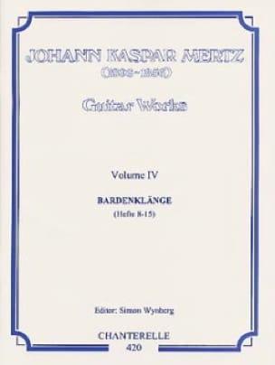 Guitar works - Volume 4 : Bardenklange Hefte 8-15 - laflutedepan.com