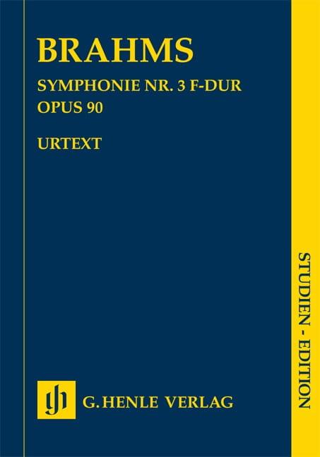 Symphonie n° 3 en Fa majeur op. 90 - BRAHMS - laflutedepan.com