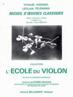 Recueil D'oeuvres Classiques - Cahier N° 2 - laflutedepan.com