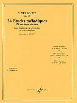24 Etudes mélodiques op. 65 - Volume 2 Stanislas Verroust laflutedepan
