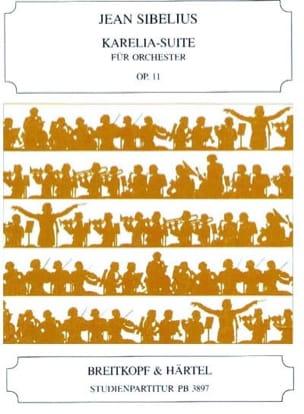 Karelia-Suite, Opus 11 - Conducteur SIBELIUS Partition laflutedepan