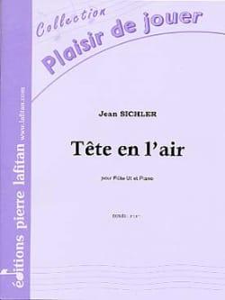 Tête en L'air Jean Sichler Partition Flûte traversière - laflutedepan