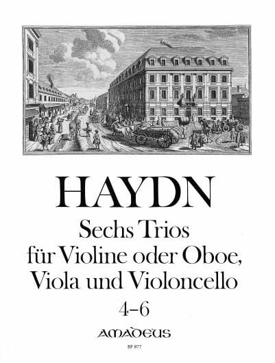 6 Trios Bd. 2 -Stimmen - HAYDN - Partition - Trios - laflutedepan.com