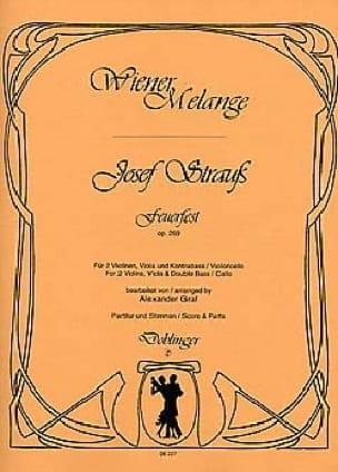 Feuerfest op. 269 - Streichquartett - Josef Strauss - laflutedepan.com