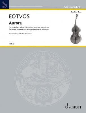 Aurora - Peter Eotvos - Partition - Quatuors - laflutedepan.com