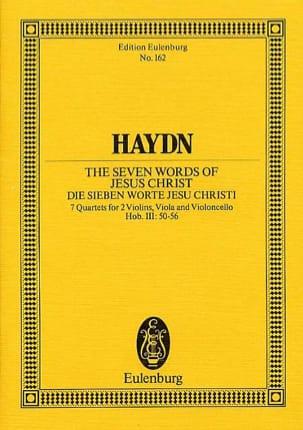 Streich-Quartette op. 51 Hob. III:50-56 HAYDN Partition laflutedepan