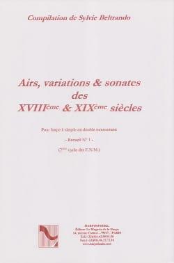 Airs, Variations et Sonates des 18° et 19° Siecles Volume 1 laflutedepan