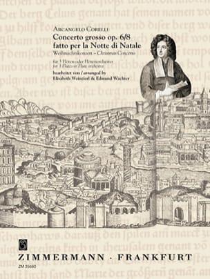 Concerto Grosso Opus 6 N°8 CORELLI Partition laflutedepan