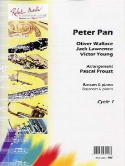Peter Pan Pascal Proust Partition Basson - laflutedepan