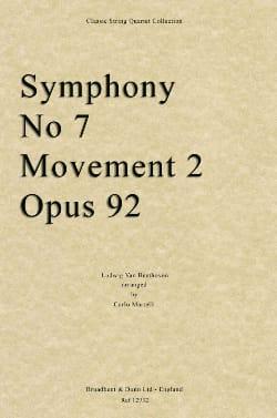 Symphonie N°7 - 2ème Mouvement Score & Parts - laflutedepan.com