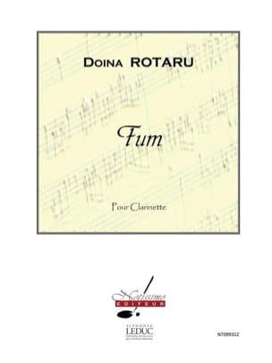 Fum Doina Rotaru Partition Clarinette - laflutedepan