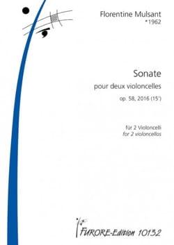Sonate, op. 58 - 2 Violoncelles Florentine Mulsant laflutedepan