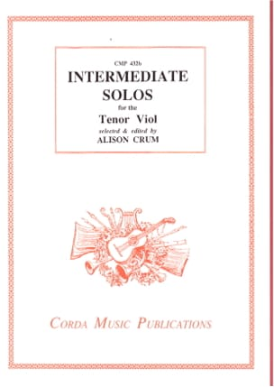 Intermediate Solos for Tenor Viol Alison Crum Partition laflutedepan